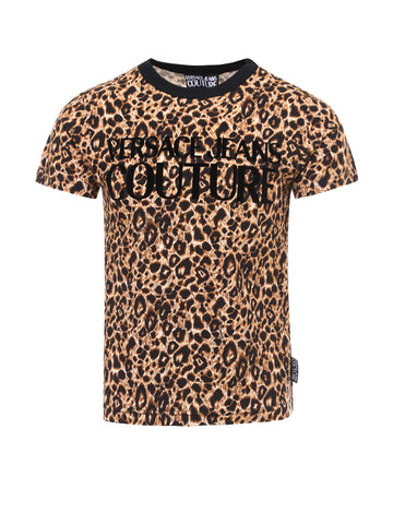 Versace Jeans Couture Animal Print T-Shirt