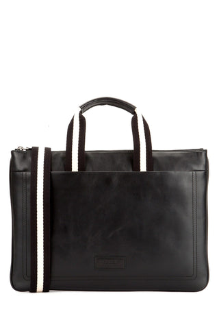 Bally Tigan Zipped Briefcase