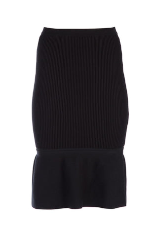 Alexander Wang Ribbed Hem Skirt