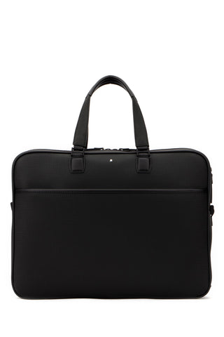Montblanc Logo Double Handle Briefcase