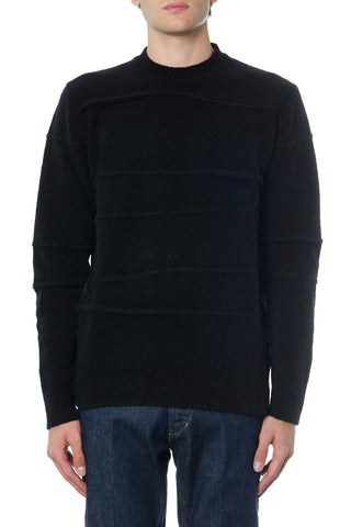 Diesel Black Gold Round Neck Jumper