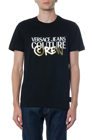 Versace Jeans Couture Logo Printed T-Shirt