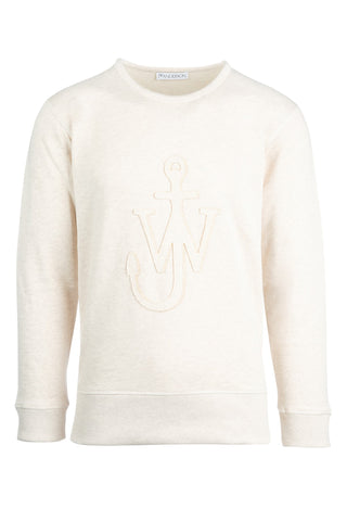 JW Anderson Embroidered Anchor Logo Sweater