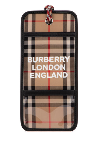 Burberry Vintage Check Lanyard Card Case