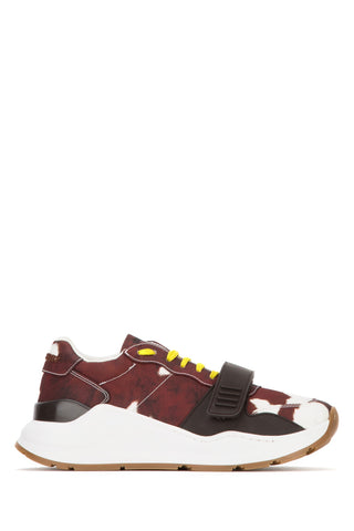 Burberry Cow Printed Low-Top Sneakers