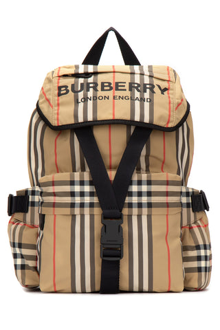 Burberry Vintage Check Logo Backpack