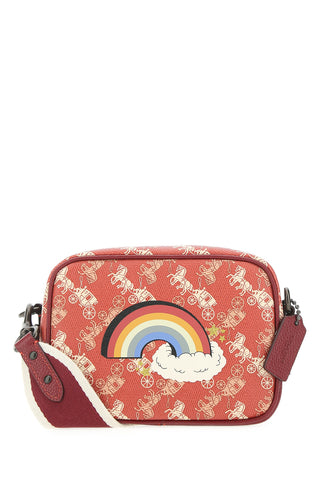 Coach Rainbow Print Camera Bag