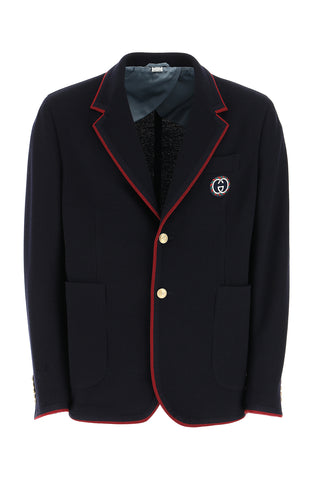 Gucci Palma GG Contrast Trimmed Jacket