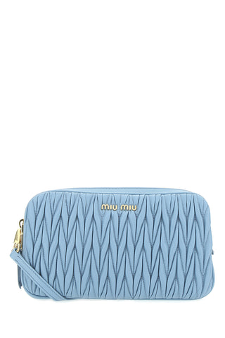 Miu Miu Matelassé Zipped Crossbody Bag