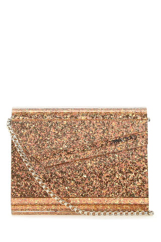 Jimmy Choo Candy Glittered Clutch Bag