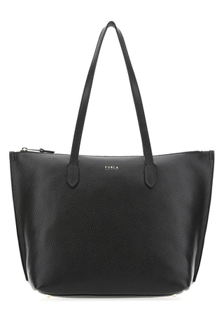 Furla Zipped Logo Tote Bag