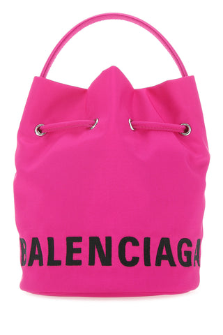 Balenciaga Wheel XS Drawstring Bucket Bag
