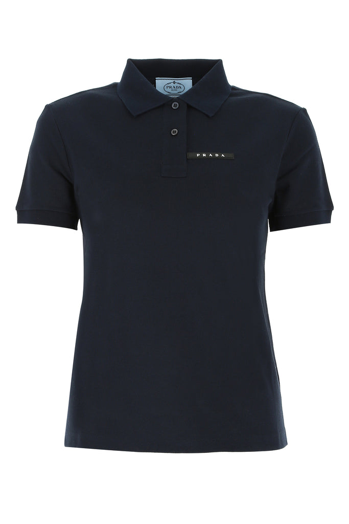 Prada Logo Polo Shirt