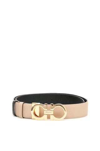 Salvatore Ferragamo Gancini Reversible Buckle Belt