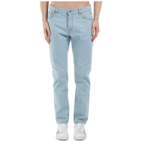 MSGM Straight-Leg Denim Jeans