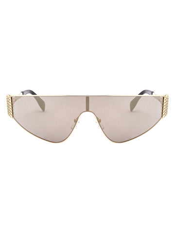 Moschino Eyewear Oval Shape Sunglasses