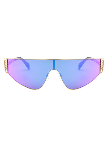 Moschino Eyewear Gradient Lens Sunglasses