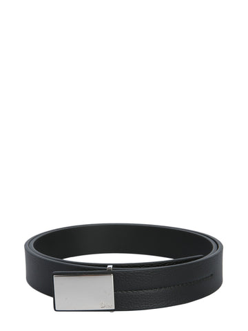 Dior Homme Logo Plaque Buckle Belt