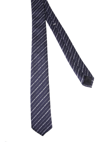 Dior Homme All Over Logo Tie