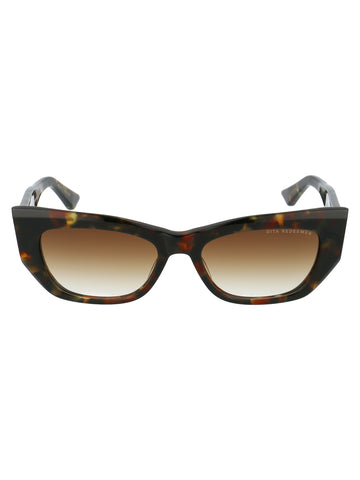 Dita Eyewear Tortoiseshell Effect Cat Eye Sunglasses