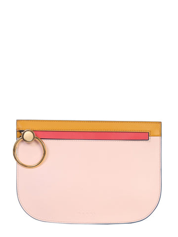 Marni Colour Block Clutch Bag