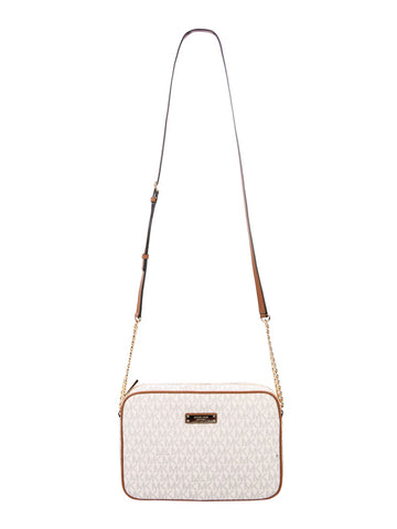 Michael Michael Kors Jet Set Travel Logo Crossbody Bag