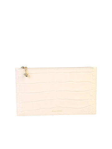Alexander McQueen Zipped Clutch Bag