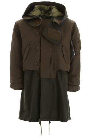 Burberry Barkby Hooded Parka