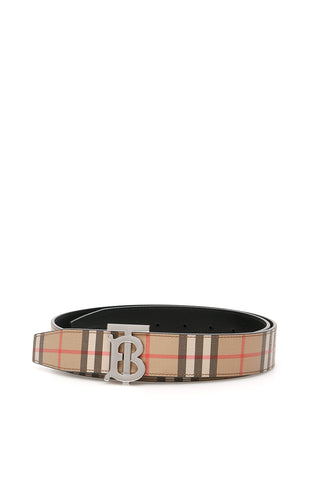 Burberry Reversible TB Buckle Belt