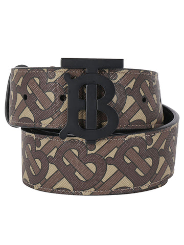 Burberry Monogram Buckle Belt