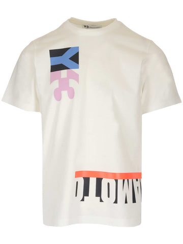 Y-3 Logo Graphic Printed T-Shirt