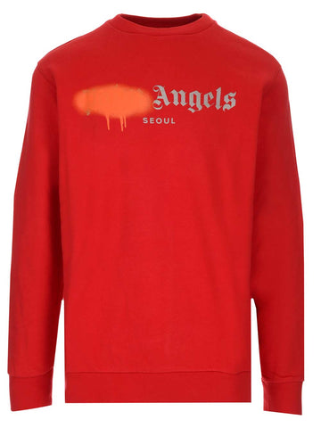 Palm Angels Milano Sprayed Sweatshirt