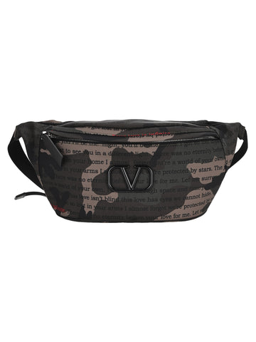 Valentino VLogo Plaque Belt Bag