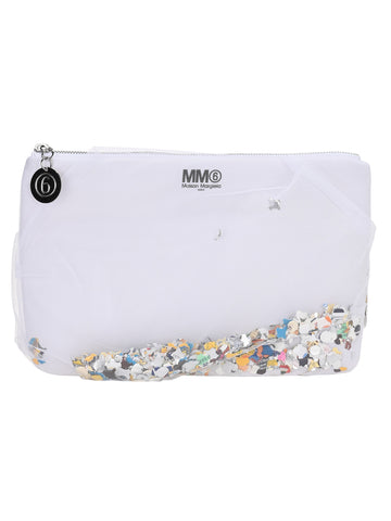 Mm6 Maison Margiela Confetti Clutch Bag