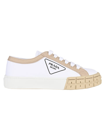 Prada Logo Low-Top Sneakers