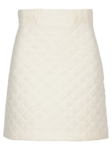 Fendi Quilted Skirt
