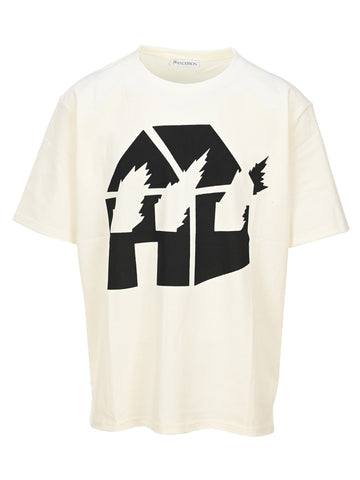 JW Anderson Burning House T-Shirt