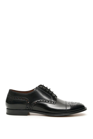 Dolce & Gabbana Perforated Detail Derby Shoes