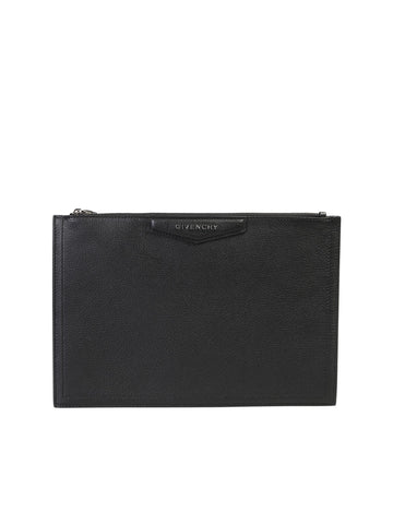 Givenchy Antigona Zipped Clutch Bag