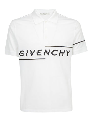 Givenchy Logo Embroidered Polo Shirt