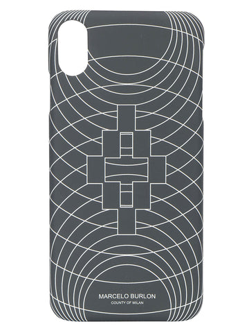 Marcelo Burlon County Of Milan Wireframe iPhone XS Max Case