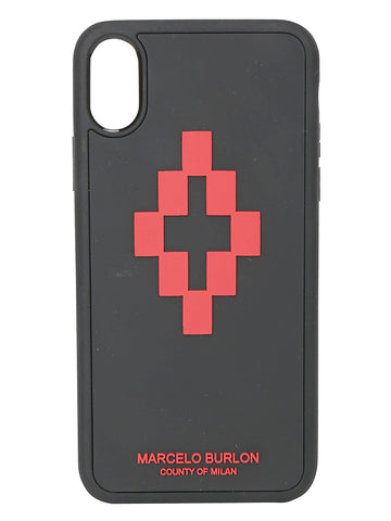 Marcelo Burlon County Of Milan 3D Cross iPhone XS Case