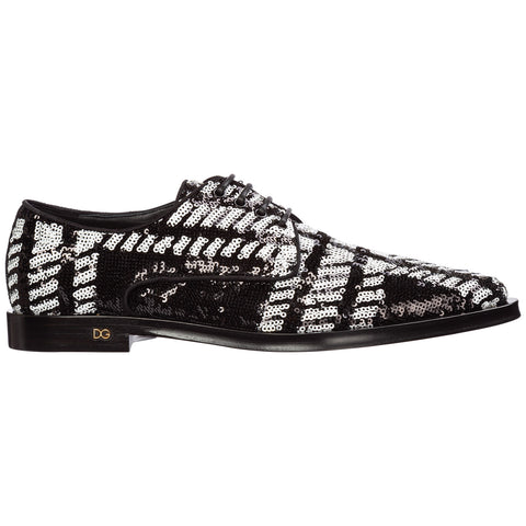 Dolce & Gabbana Sequins Derby Shoes