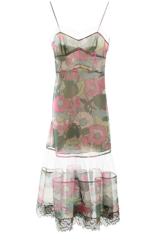 Fendi Printed Sleeveless Dress