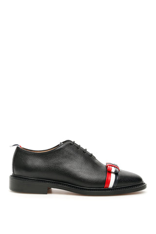 Thom Browne Bow Wholecut Oxford Shoes