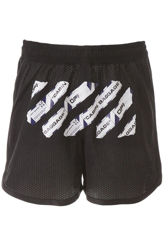 Off-White Printed Shorts