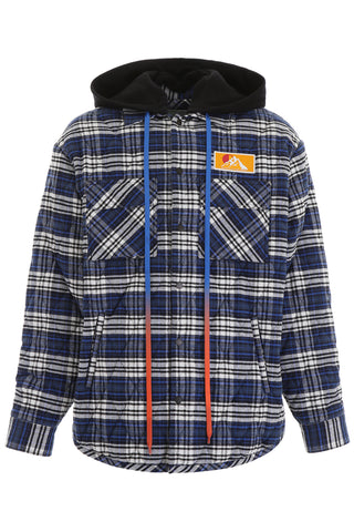 Off-White Logo Checkered Flannel Jacket