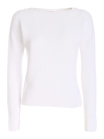 Max Mara Ribbed Round-Neck Sweater