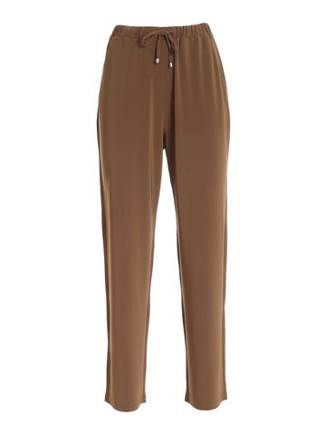 Max Mara Drawstring Straight-Leg Pants