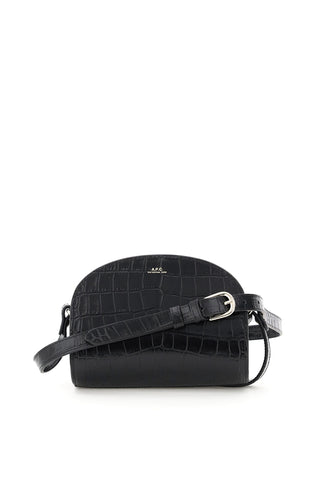 A.P.C. Demi Lune Mini Crossbody Bag